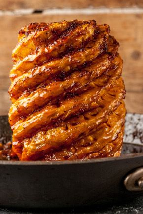 Raymond Blanc's Roast Pineapple. Whoa!!