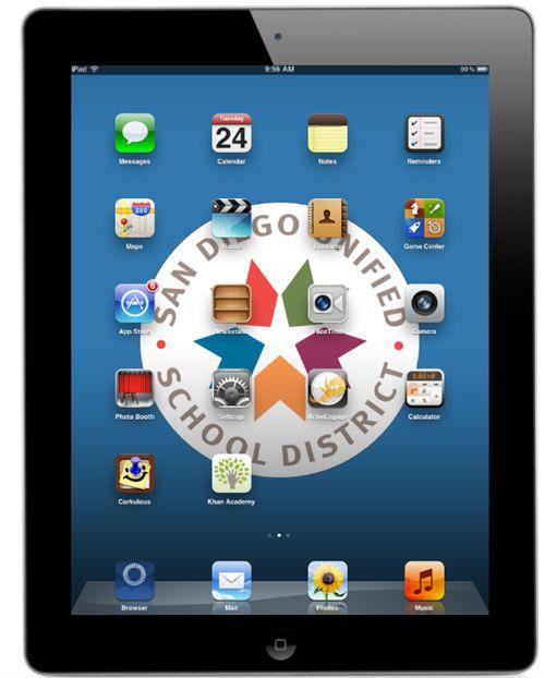 San Diego School District App list