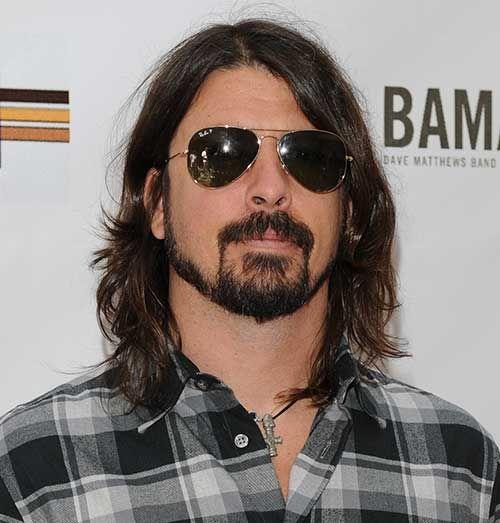 Famous Men Long Hair
