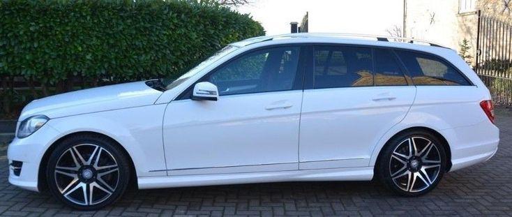 eBay: 2011 Mercedes C350 CDI Blue Efficiency 125 AMG Sport Edition - Spares or Repair #carparts #carrepair