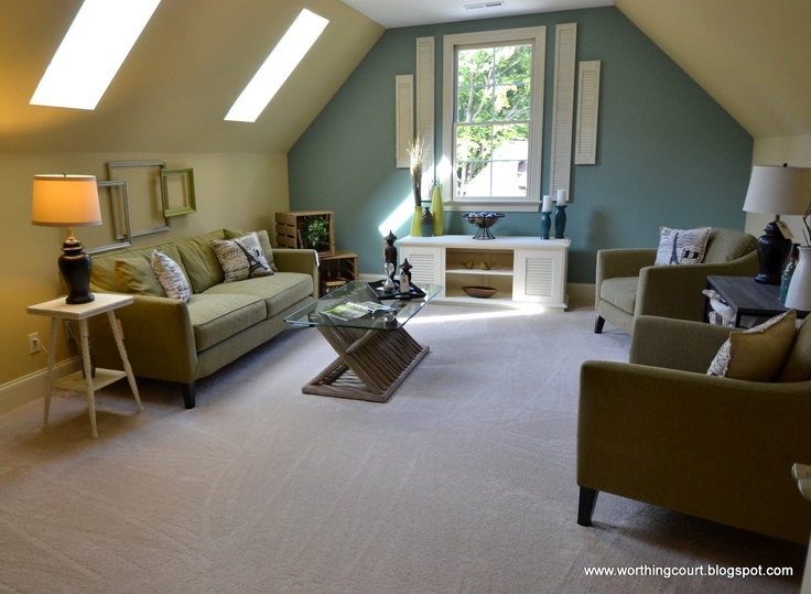 Looking To Change The Paint In The Bonus Room Like This