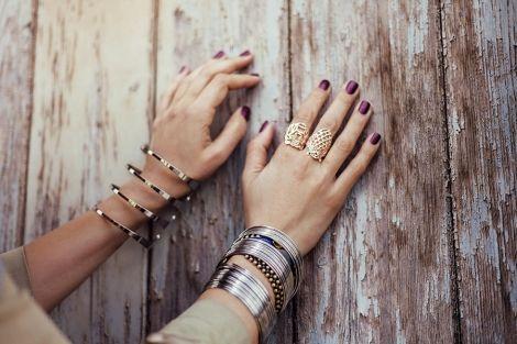 Βραχιόλια και δακτυλίδια όλα // bracelets and rings all by FULLAH SUGAH BY SKONDRAS