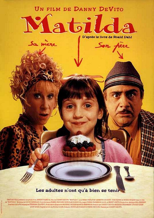 Matilda: https://2aughlikecrazy.wordpress.com/2013/09/08/matilda/