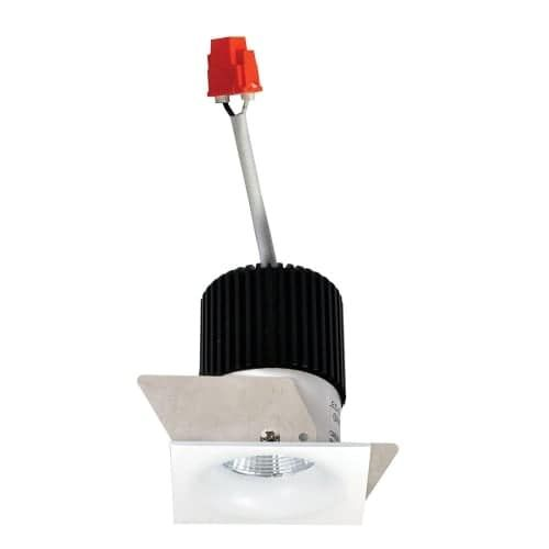 Nora Lighting NIO-1SNB Iolite 1 LED Square Recessed Trim - Light Module not Included (natural metal) (Aluminum)