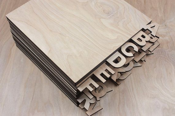 Laser cut wooden vinyl record dividers . Set of 26 letters. Size: 11.5X13.5 (can be customized). Thickness: 0.2 in. For additional $50 we can customize