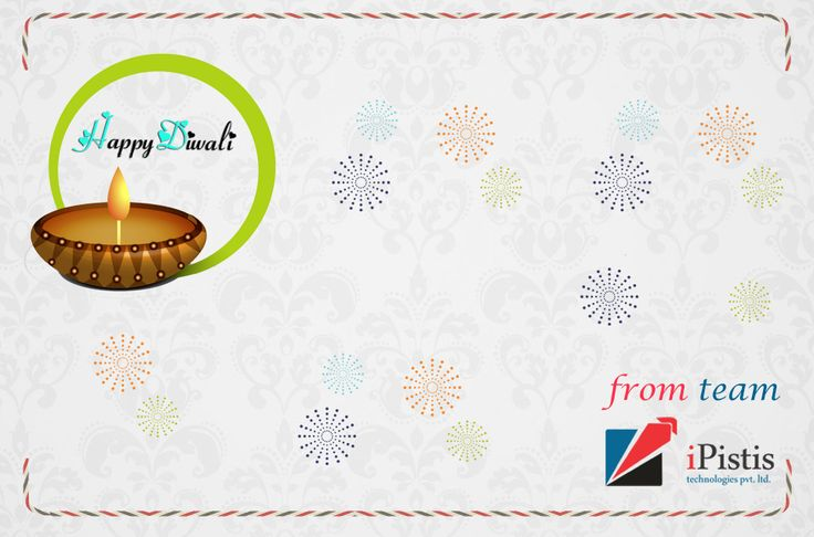 Wishing you a Very Happy Diwali From iPistis Team. This Diwali gift to smile :)