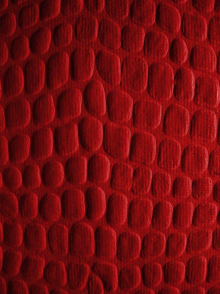 Pattern in Dark Red