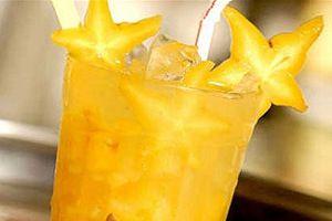 Drink de Pêssego com Leite Condensado
