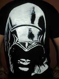 handpainted t shirt assassin's creed.https://www.facebook.com/pages/Anastasias-art-gallery/334822676627889?fref=ts