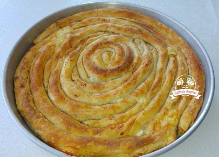 Peynirli El Açması Börek | Güllerin Tarifleri