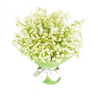25 ландышей с доставкой в Москве. Свежие цветы!