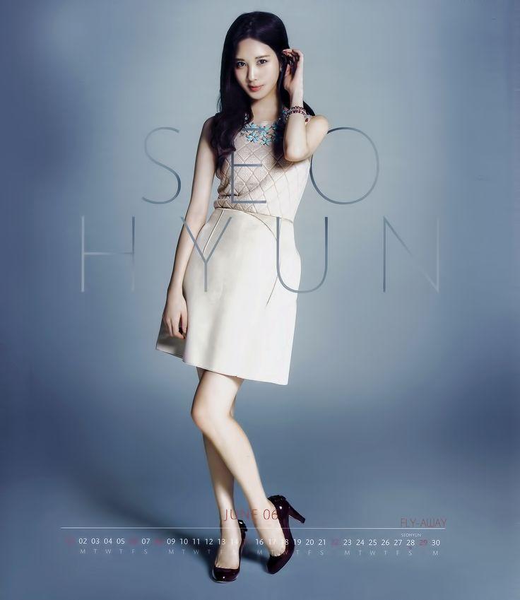 SNSD SeoHyun / Calendar 2014