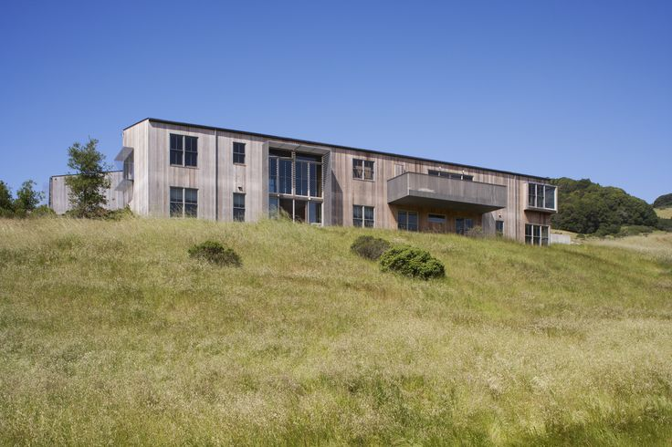 Exterior - West Marin Ranch, Turnbull Griffin Haesloop Architects