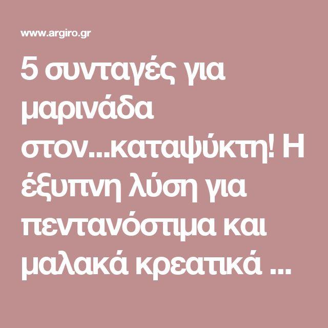 5 συνταγές για μαρινάδα στον...καταψύκτη! Η έξυπνη λύση για πεντανόστιμα και μαλακά κρεατικά στο πι και φι | Argiro.gr