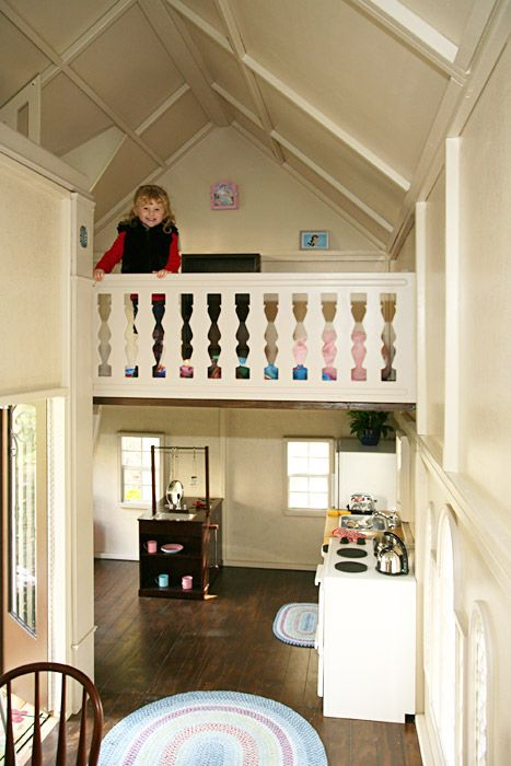 229 best play houses interiors images on pinterest for Playhouse ideas inside