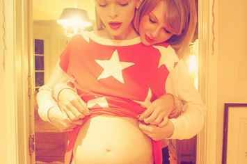 These Photos Of Taylor Swift Meeting Her Godson Are The Cutest