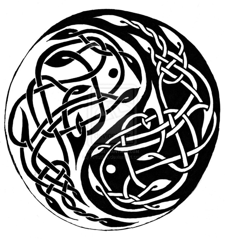 Celtic yin and yang