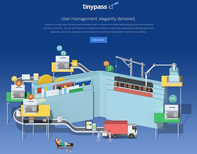 I have worked with Tinypass on their rebrand, to depict 4 main features of Tinypass's nature. Tinypass is a software-as-a-service that enables publishers and content creators to create and manage business models around their content. That can mean sellin…