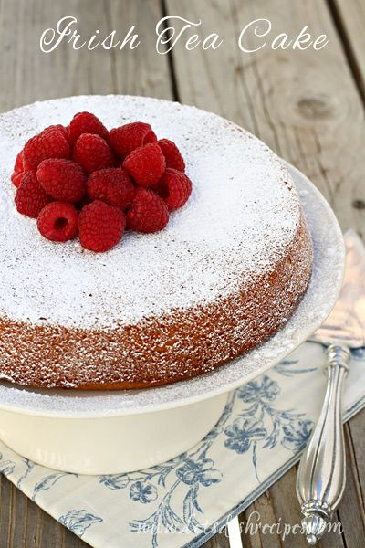 Irish Tea Cake on MyRecipeMagic.com