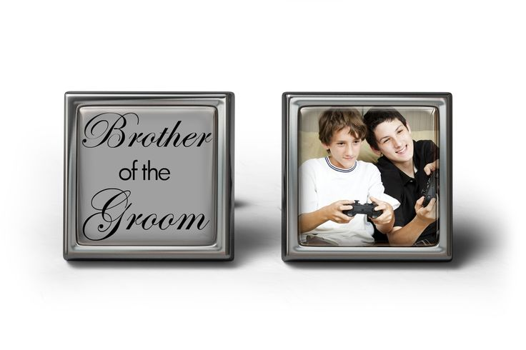 Brother Of The Groom Wedding Cufflinks #groomsmancufflinks #weddingcufflinks