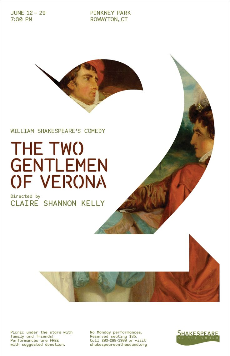 // The Two Gentlemen of Verona by McLane Teitel