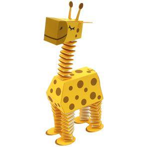 giraffe - paper toy - free printable template  http://cp.c-ij.com/en/contents/2023/zoo-giraffe/index.html#