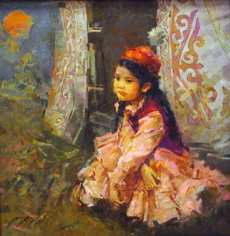 Kazakh artist Dosbol Kassymov