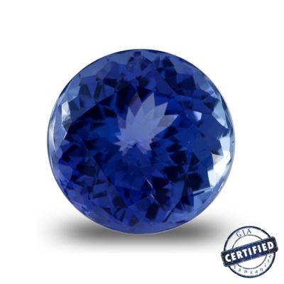 4.19 Carat Round #Tanzanite, Price: $2933.