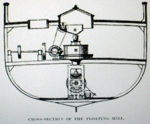 To support the British troops with their daily bread ration during the Crimean War in 1855-6, two iron steamers were refitted – one named ...