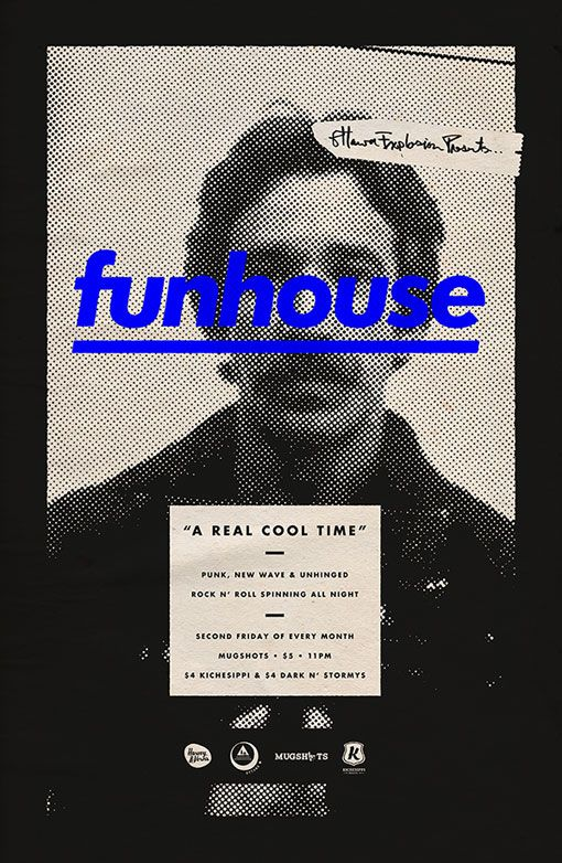 Michael George Haddad: Funhouse Posters
