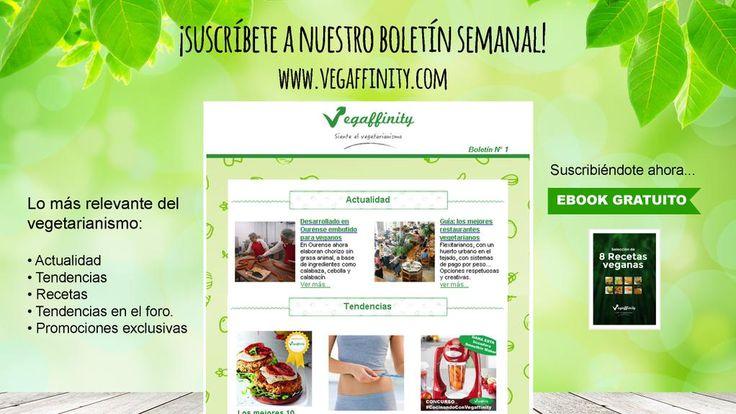 Si deseas recibir en tu email una selección del mejor contenido veggie, entra en http://www.vegaffinity.com y suscríbete!