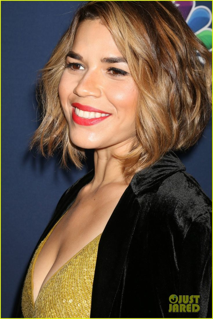 America Ferrera Debuts New Blonde Hair At NBC & Vanity Fair's Fall Season Toast Celebration!