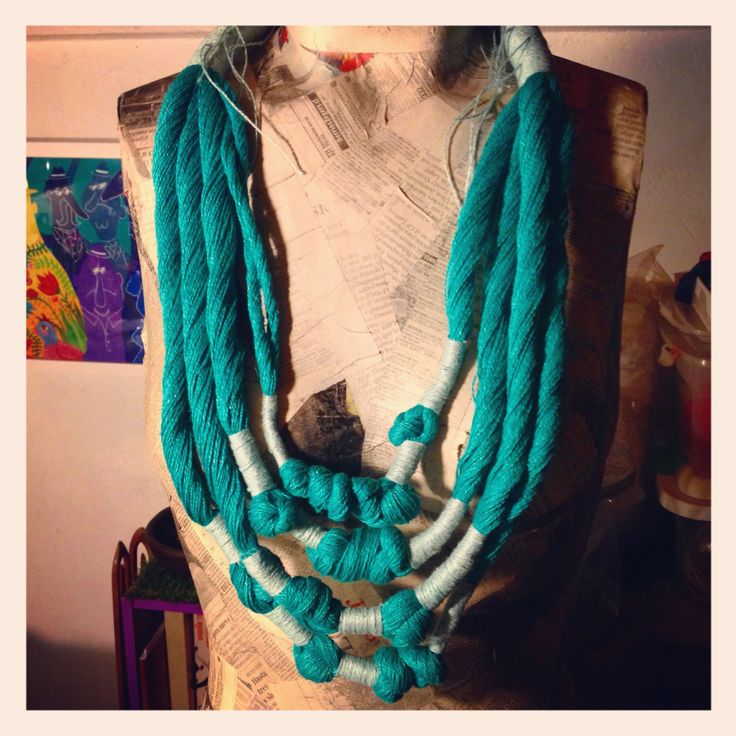 Textiles Jewelry Necklace linen