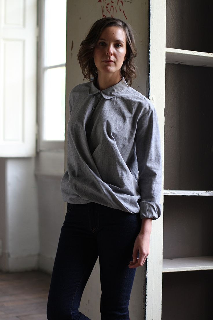 The shirt Jane, the new sewing pattern from Ready to sew. Patron de couture, la chemise Jane. www.readytosew.fr