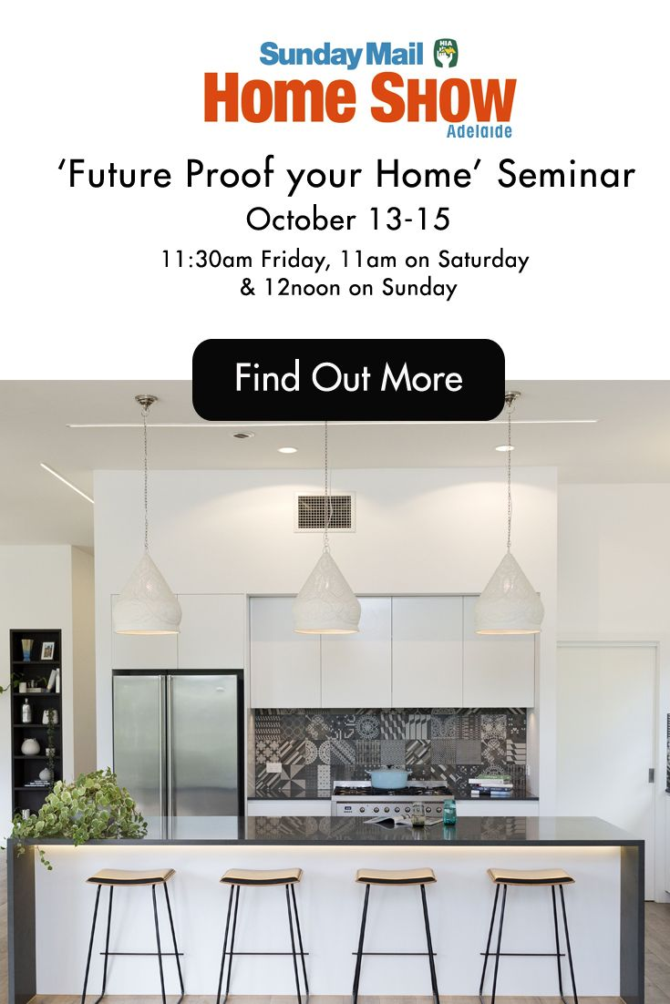 I'm really excited to be speaking each day at the Adelaide Home Show on 'Future Proofing your Home', so for those of you in South Australia, I look forward to seeing you there.  I'll also be selling copies of my book after each session.  October 13-15 - Adelaide Showgrounds. For details go to http://www.kjex.com.au/Home%20Show.html  #adelaidehomeshow #futureproofyourhome #interiordesign
