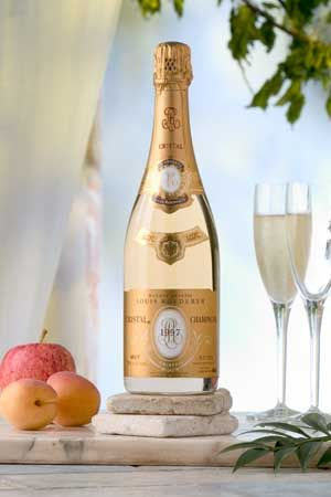 The Champagne (Louis Roederer Cristal Brut 1997)