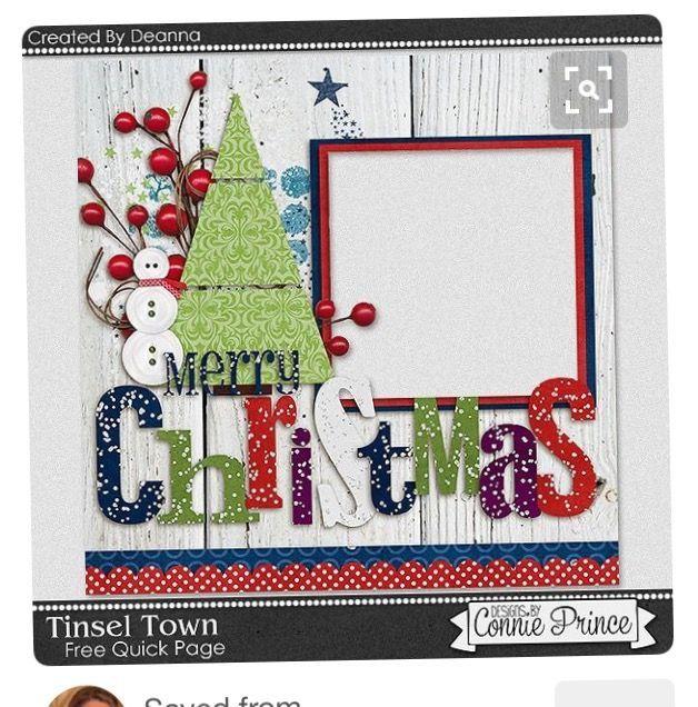 Christmas Themed Scrapbook Layouts | 12X12 layouts | Scrapbooking Ideas | Creative Scrapbooker Magazine #christmas #scrapbooking #12X12layout
