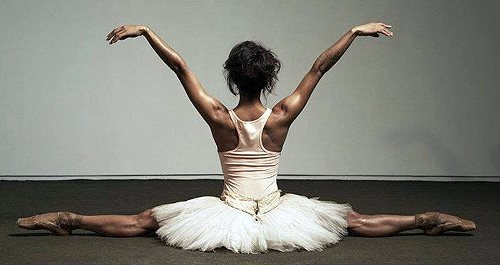 Misty Copeland, flexibility I am a huge ballet fan and it had never occured to me how absolutely beautiful brown skin looks on a ballerina until I saw Misty Copeland. She changed my entire perception of what the dance should look like.