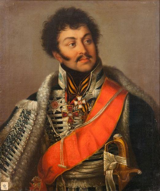 Портрет Д. Д. Шепелева. Неизвестный художник. Вторая четверть XIX в.