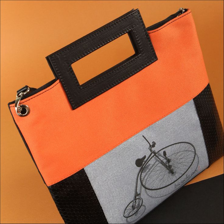 self designed bag, bicycle no.2