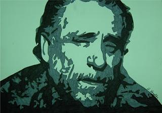 Sentia-me contente por não estar apaixonado, por não estar  contente com o mundo. Gosto de estar em desacordo com tudo. As pessoas apaixonadas tornam-se muitas vezes susceptíveis, perigosas. Perdem o sentido da realidade. Perdem o sentido de humor. Tornam-se nervosas,psicóticas, chatas. Tornam-se, mesmo, assassinas.  Charles Bukowski