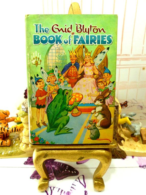 Enid Blyton Book of Fairies Vintage Fairy Stories by KittysTales