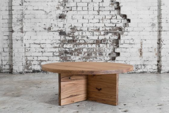 COOPERS STORE Eva Coffee Table (Wormy Chestnut)