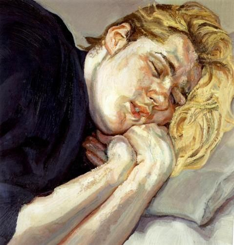 Susie, oil, 56.5 x 52cm, Lucian Freud 1988 (170) private collection