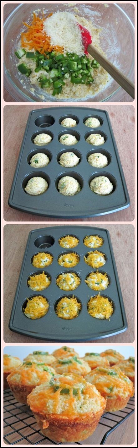 Love Jalapenos then you will find these cornbread muffins irresistible