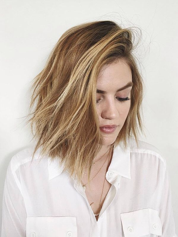 Lucy Hale blonde