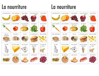 Madame Belle Feuille: October 2012 - Food Unit with other units for French Immersion or Core French