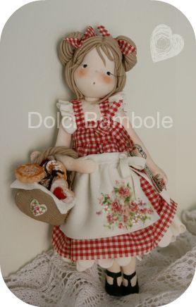 *SORRY, no information given as to product used ~ Dolci Bambole : Bambole