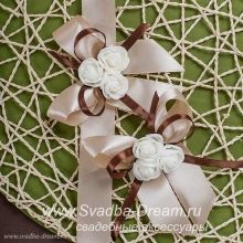 Свадебные бутоньерки для свидетелей и гостей, подружки невесты и друга жениха, Бутоньерки для свидетелей на свадьбу