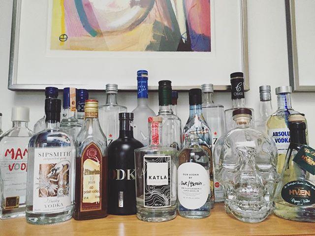 It's beginning to look a lot like Christmas  #vodka #russisklillejuleaften
